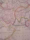 نقشه مستقل بلوچستان در سال 1840م