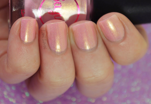 Sayuri Nail Lacquer - Frosted Fairycakes nail polish swatches & review