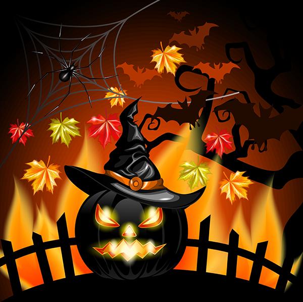 calabaza de halloween 2.0 - vector