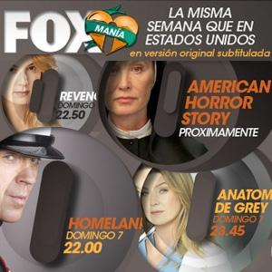 Fox- Estrenos adelantados en V.O subtitulada