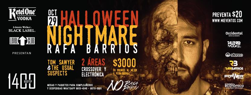 Rafa Barrios en Halloween