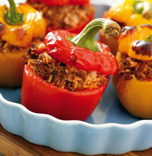 Receta Light: Morrones Rellenos