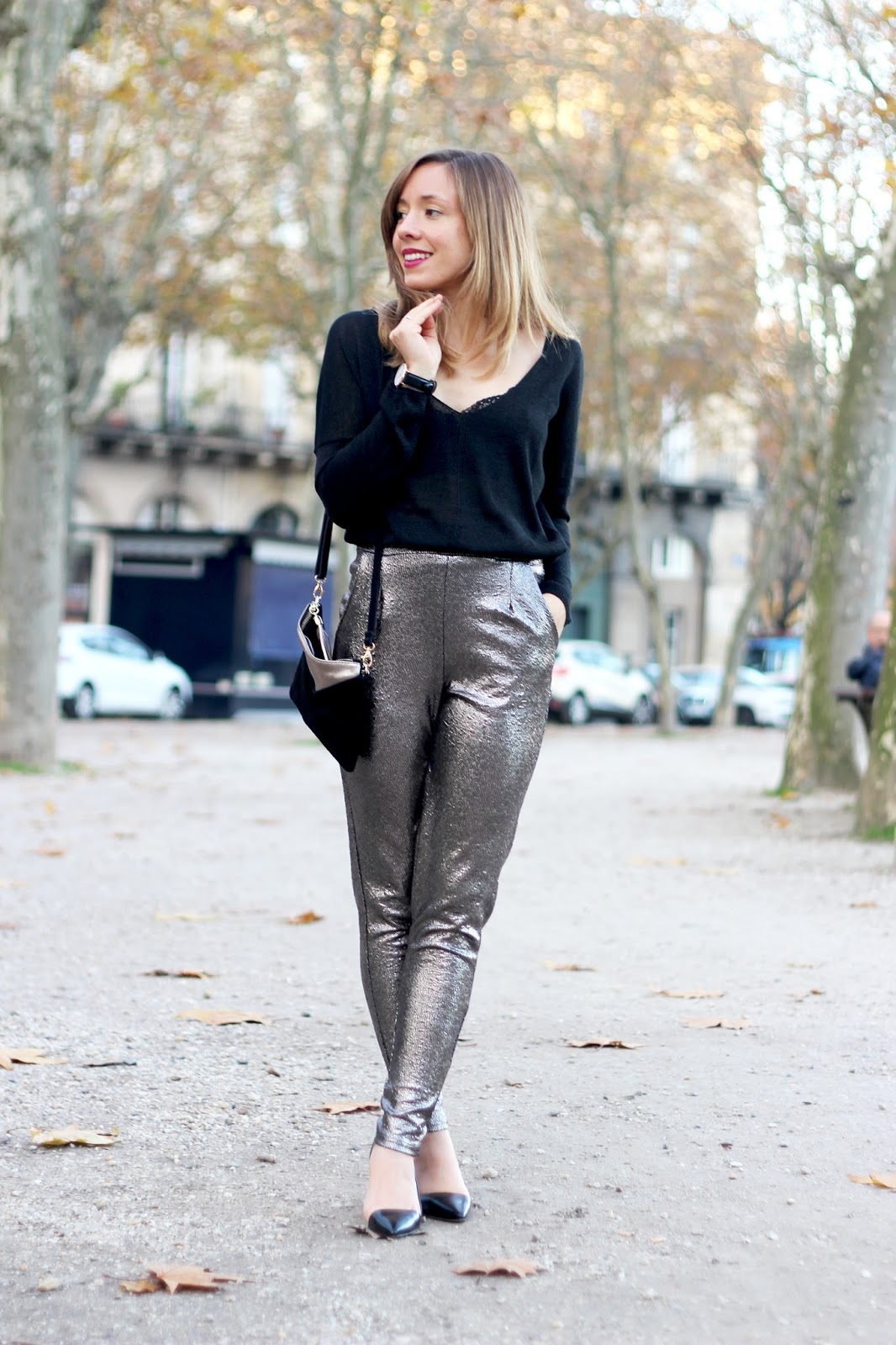 inspiration look de fêtes blog mode