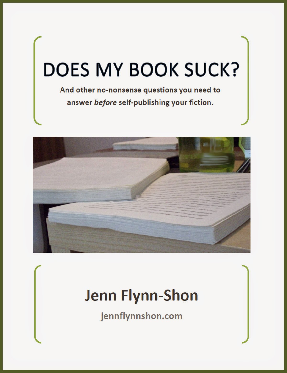 Does My Book Suck?