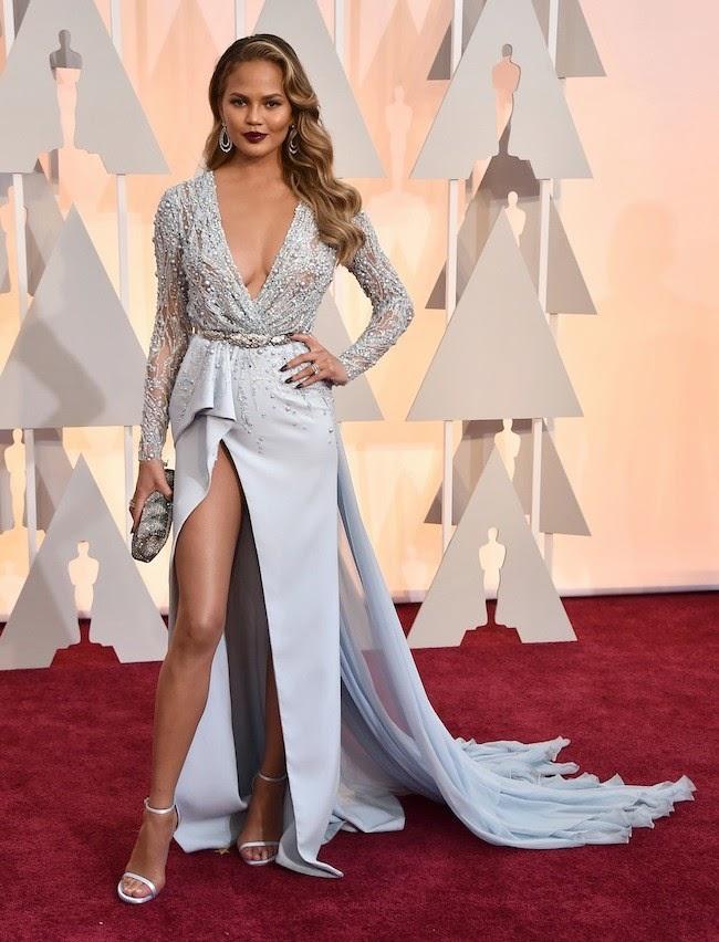 Oscar 2015 Chrissy Teigen