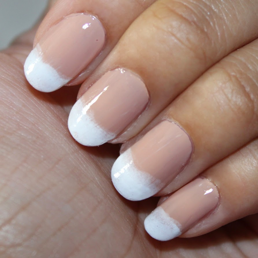 Easy French Nails Tutorial :) - \'Vanessa Jhoy Blog