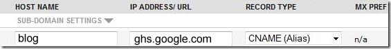 Add a sub domain on Namecheap