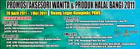 Promosi Aksesori Wanita & produk Halal Bangi 2011