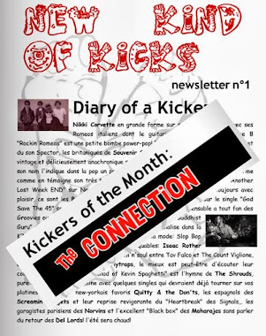 New Kind Of Kicks newsletter 1