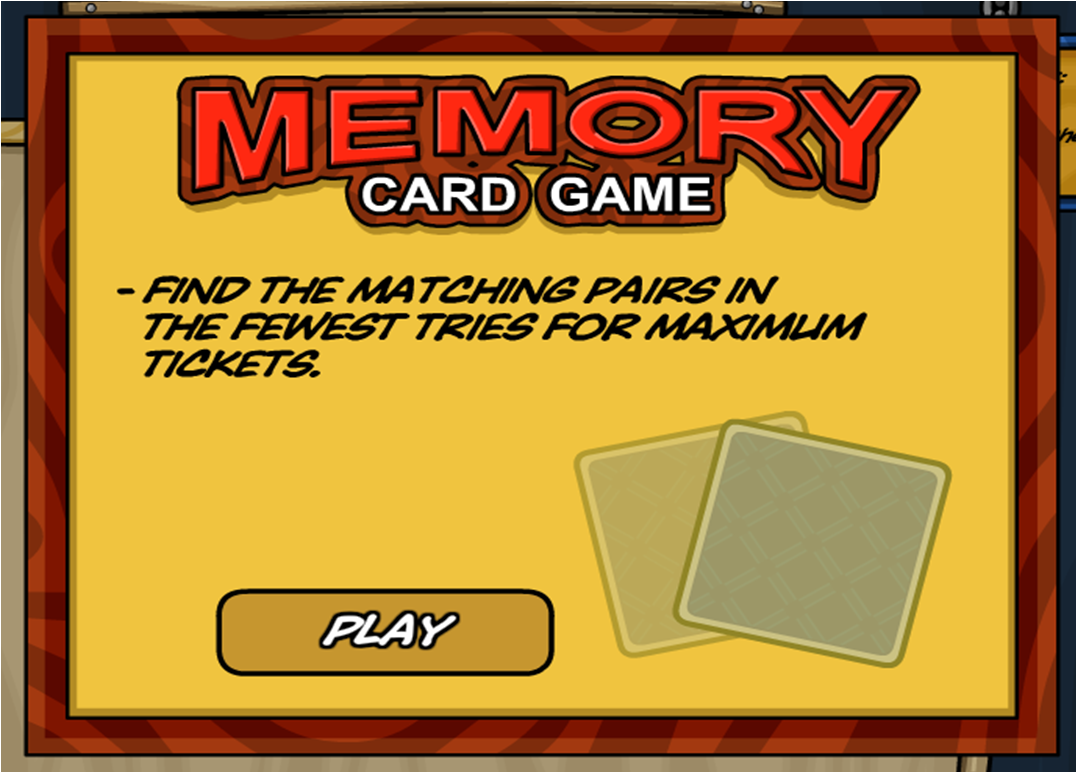 memory card game for memory card game can