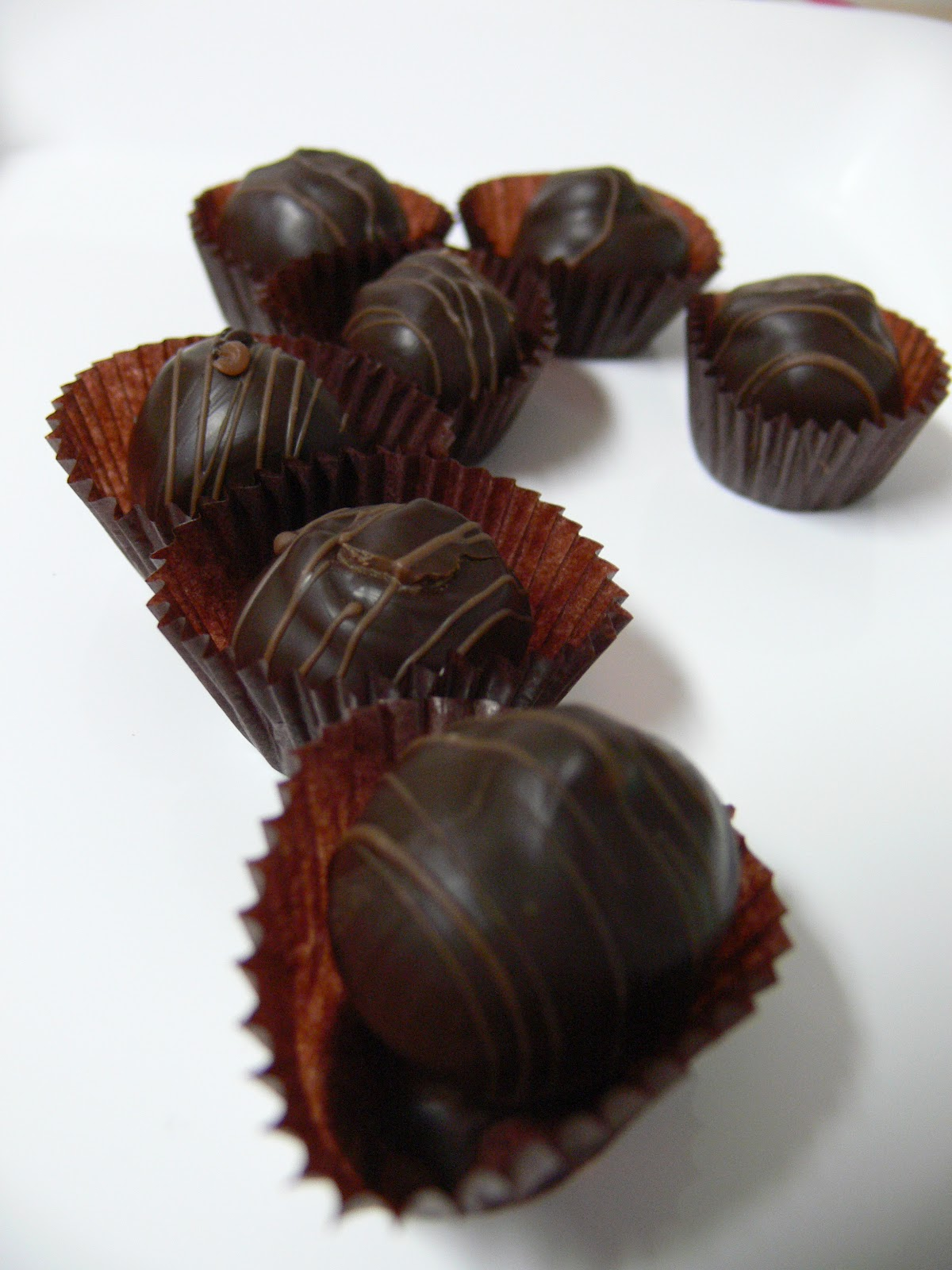 The Ultimate Chocolate Blog: Bittersweet Chocolate Truffle Recipe for ...