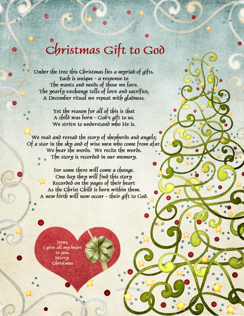Latter-day Saint Poetry by Loretta Harbertson: Christmas Gift to God