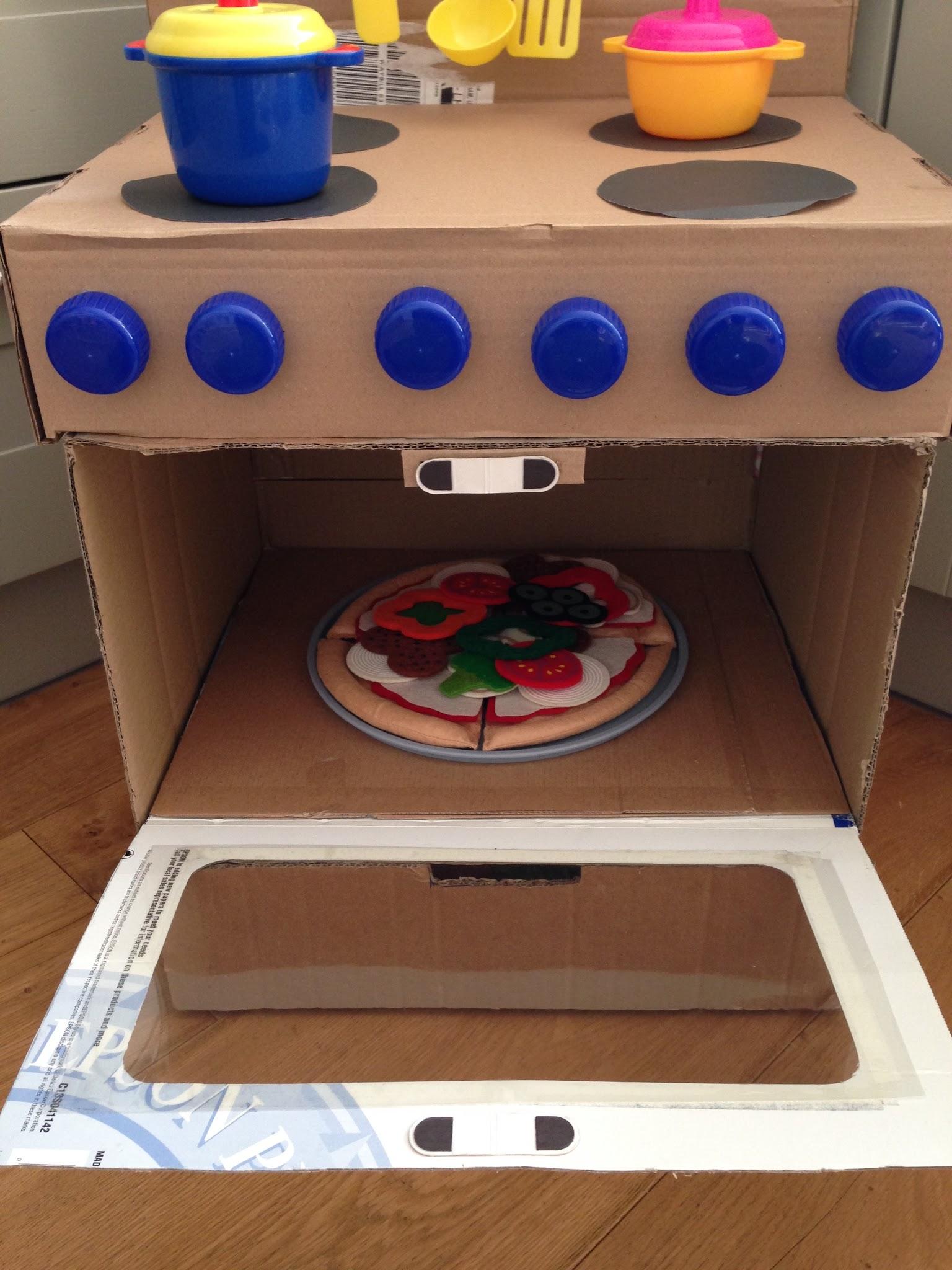 2 Littlefaces Diy Cardboard Box Oven