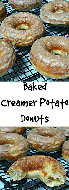 Baked Donuts using Little Potato Company Creamer Potatoes