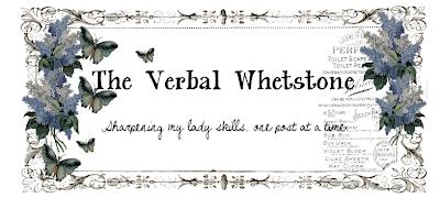 The Verbal Whetstone