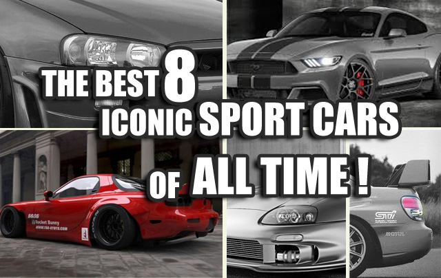 The Best Iconic Sport Cars Of All Time EVO TEAM IMPORTS - Iconic sports cars