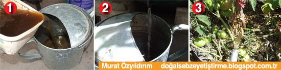 gübre şerbeti ev yapımı sıvı gübre