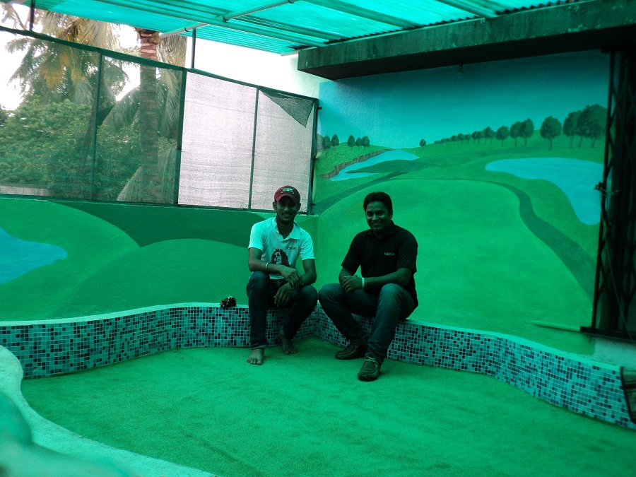 School kids classroom wall painting khar mahim mumbai for Room design mahim