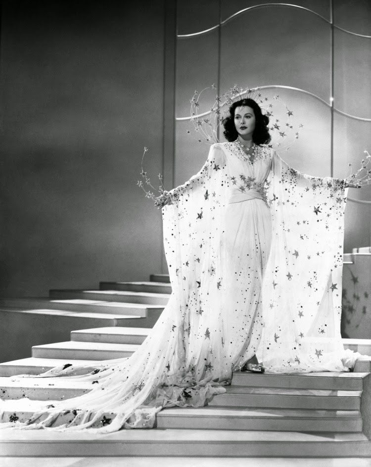 A Vintage Nerd, Vintage Blog, Old Hollywood Blog, Ziegfeld Girl, Hedy Lamarr, Classic Film Blog