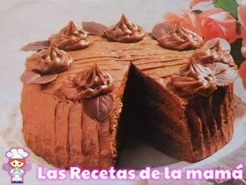 Tarta de chocolate especial