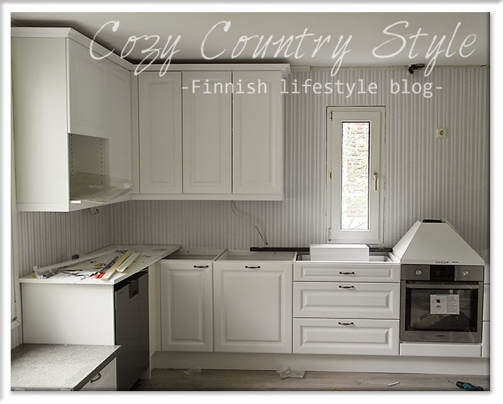 Cozy Country Style Finnish lifestyle blog Keittiö remonttiin