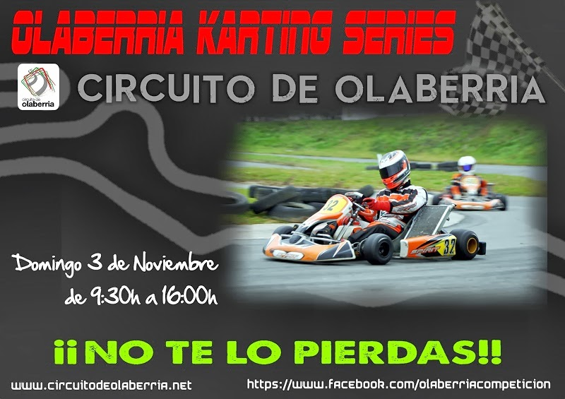 Circuito Olaberria : M k karting Última prueba de las olaberria series