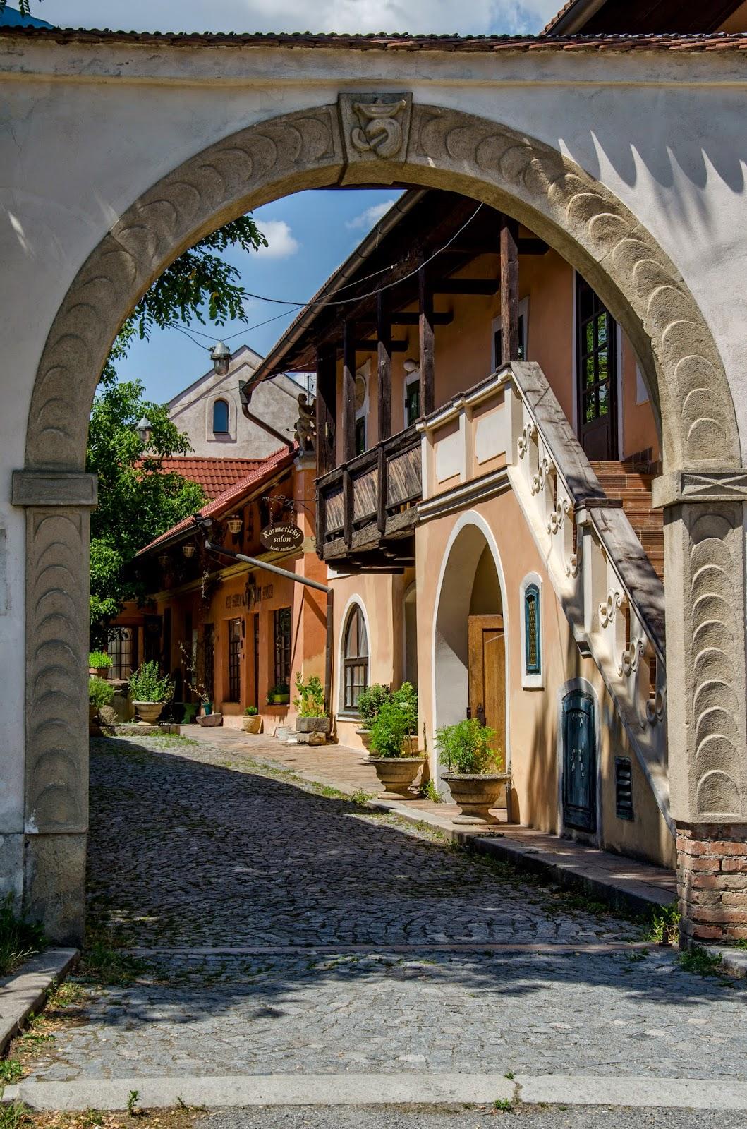 ulička Čelákovice