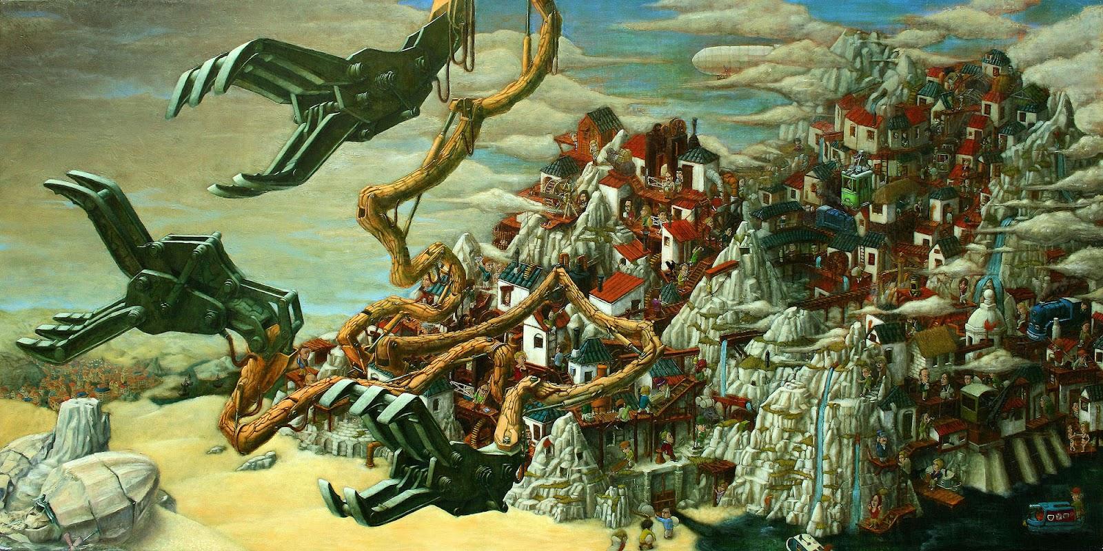 surrealism and visionary art  hiroki kakinuma