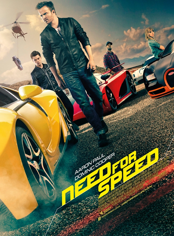 Need for Speed póster