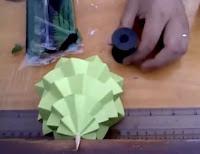 materiales de como hacer arbolito de papel