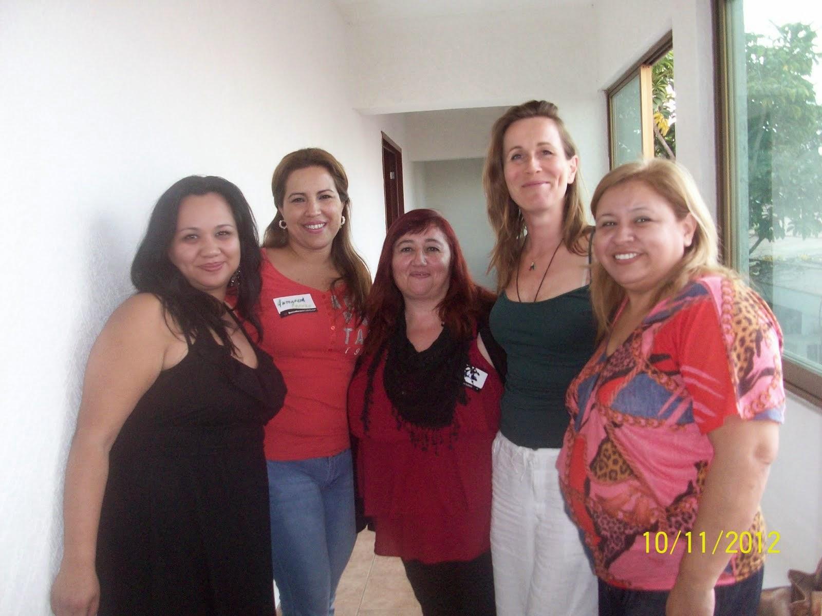 Con Marianne Costa