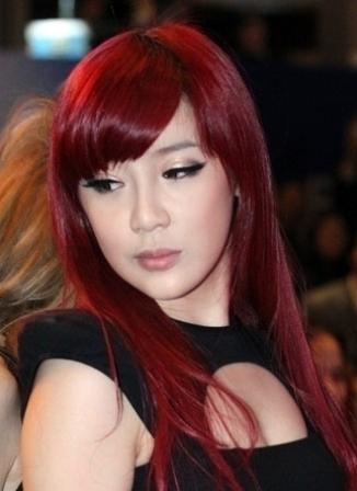 Warna Rambut Semi Natural Korea