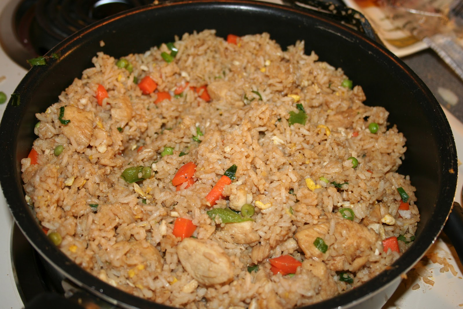 Simple Delight: Arroz Chaufa: Peruvian Fried Rice