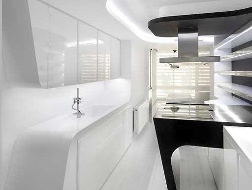 La creatividad plasmada en un espacio peque o cocinas - Cocinas joaquin torres ...