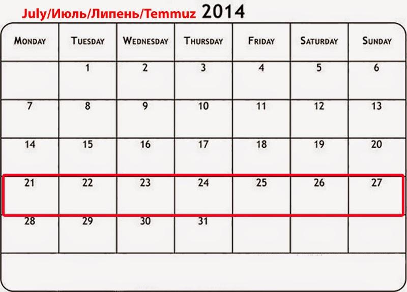Události týdne 21.-27. července 2014