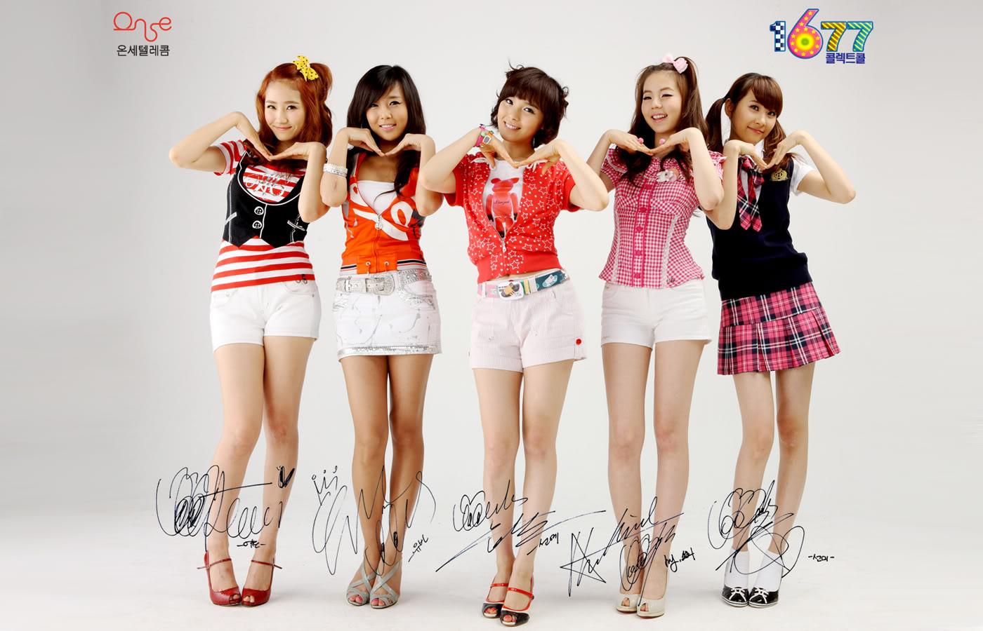 wonder girls wallpaper