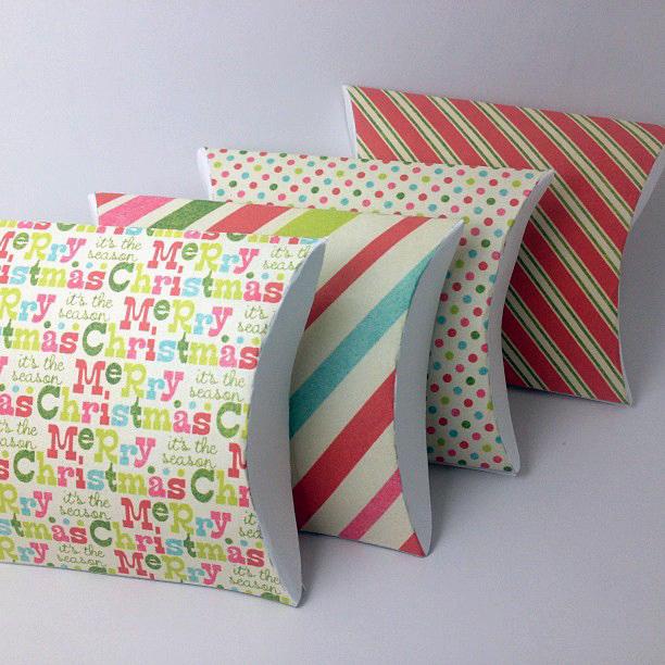DIY Printable Gift Favor Pillow Box Lovelyelement