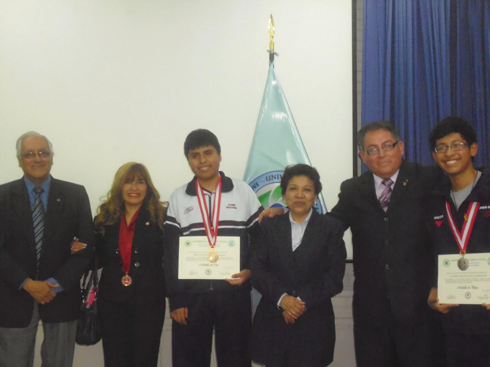 HEXACAMPEONES  NACIONALES DE LAS OLIMPIADAS PERUANAS DE BIOLOGIA O.P.B. DEL  2008 AL 2013.