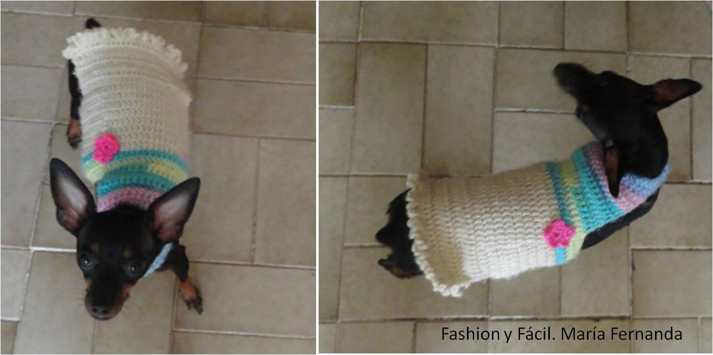Diy: Ropa Para Perros A Ganchillo. Chalecos Y Vestidos De Crochet Para