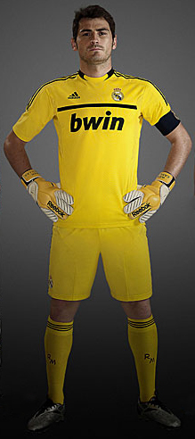 equipación Real Madrid 2012 Casillas