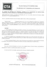 Remitimos al Comité de Empresa escrito sobre propuesta de escrito sobre el acceso a laboral fijo en