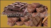Chocolate é benéfico à saúde se comido com moderação.