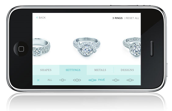 June 14th marked the premiere of Tiffany & Co.'s venture into the mobile world with the creation of its first-ever iPhone application, The Engagement Ring Finder. Offering new ways to explore the label's luxurious engagement ring collection, the application is the first of its kind.