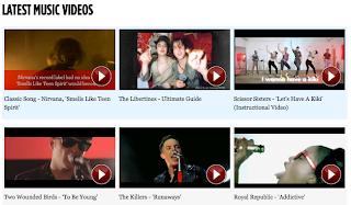 NME Video, 最近の音楽ビデオ