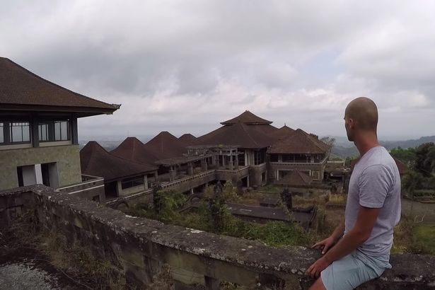 jacob laukaitis the ghost palace hotel in bali