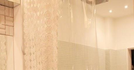 Puerta al sur ba o cortinas de ducha originales de crochet - Cortinas de ducha originales ...