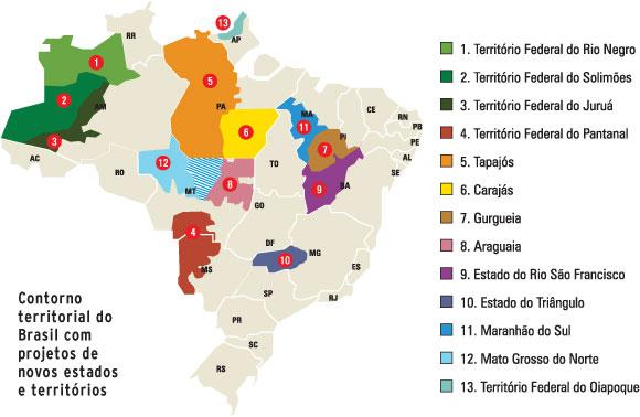 Movimento separatista região norte  tapajós e carajás 2011 1