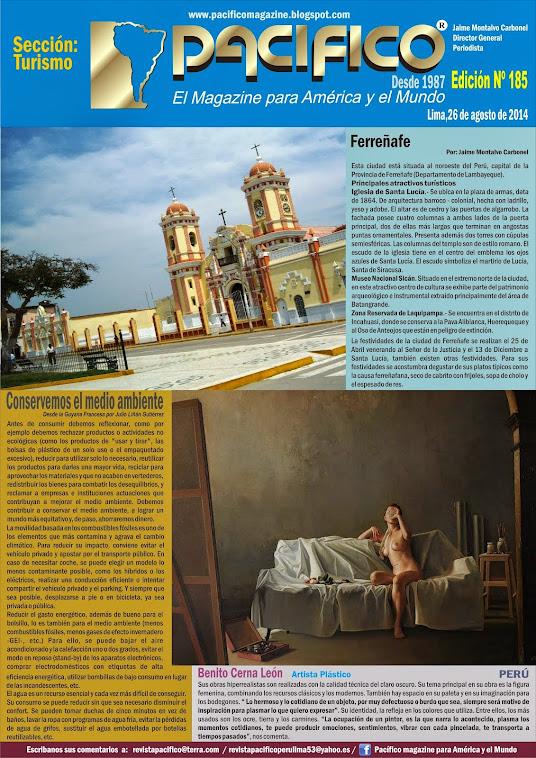 Revista Pacífico Nº 185 Turismo