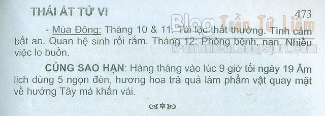 TỬ VI TUỔI 1979 NAM