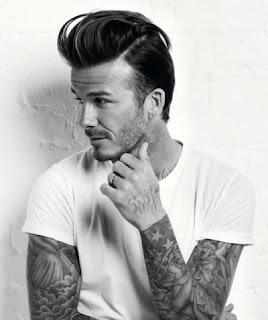 David Beckhams Pompadour Hairstyle Inhaircuts - David beckham hairstyle pompadour